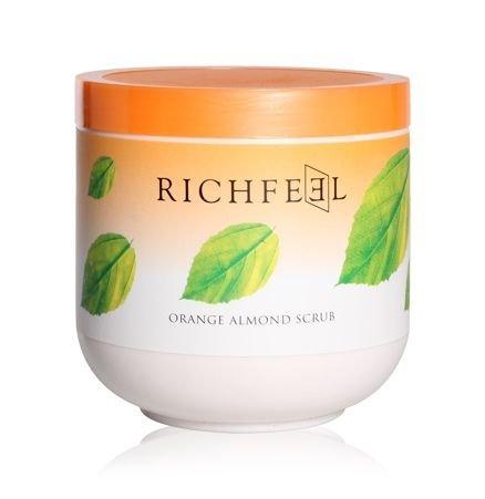 Richfeel Orange Almond Scrub, 500g