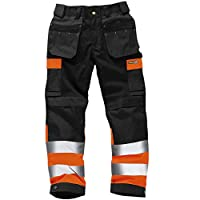 Army And Workwear Colour: Black/Orange | Size: 36R