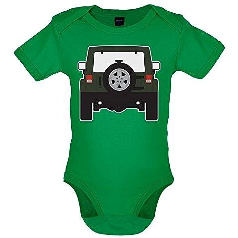 Wrangle Rear Green - Bébé-Body - Vert - 0 à