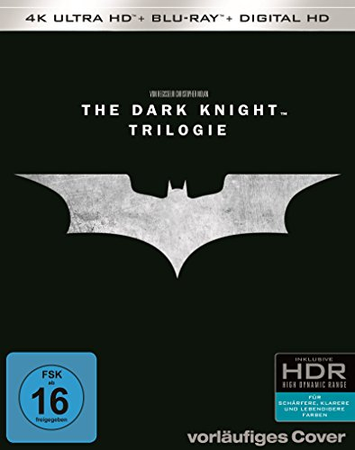 "Christopher Nolans ""The Dark Knight Trilogy"" (exklusiv bei Amazon.de) - Ultra HD Blu-ray [4k + Blu-ray Disc]"