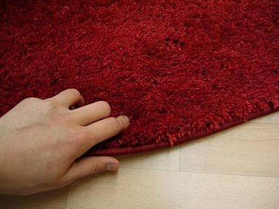 Weinroter teppich  Hochflor Shaggy Teppich Palace Weinrot Rot in 24 Größen: Amazon.de ...