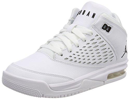 new product cdad5 4899f Nike Jungen Jordan Flight Origin 4 (GS) Basketballschuhe, Elfenbein  (Whiteblack 100), 39 EU