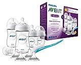Philips Avent Natural Flaschenset SCD301/02 für Neugeborene