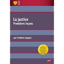 La justice, premières leçons
