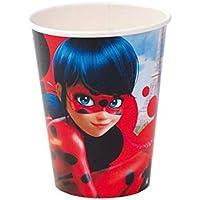 Lote de 24 Vasos de Cartón Infantiles Decorativos