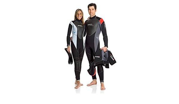 Mares Evolution 2 Piece Wetsuit 5+5mm She Dives size 2(S) Lady  Amazon.co.uk   Sports   Outdoors 11a11bb82
