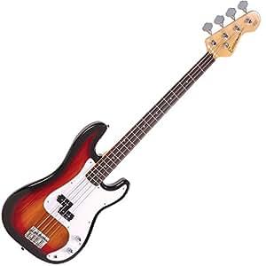 Encore E4SB Bass Guitar - Sunburst
