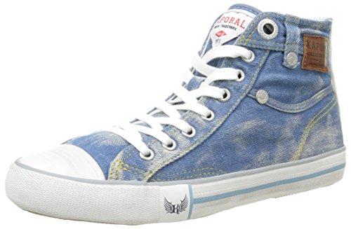 Kaporal Icarus, Sneakers Hautes femme Bleu (Bleu Clair Denim)