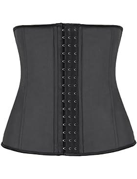 Binhee Mujer Waist Cincher Corsé Fajas Cinturón Firme De Formación Para Cincher Underbust Negro XXXXX-Large