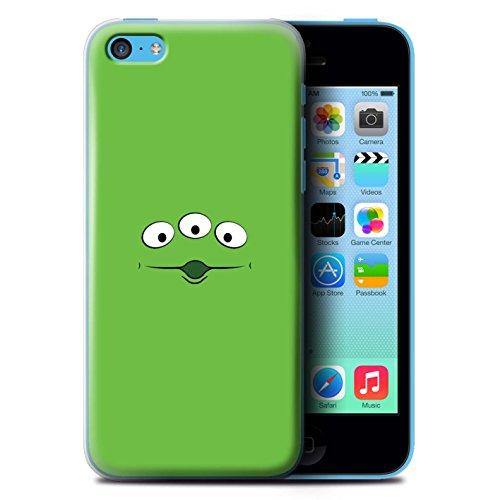 Stuff4® Hülle/Case für Apple iPhone 5C / Spielzeug Alien Inspiriert Muster/Süße Spielzeugfiguren Kollektion