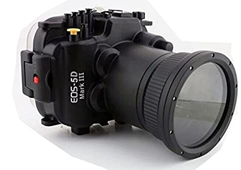 Polaroid SLR Dive Rated Waterproof Underwater Housing Case For The Canon 5D Mark 3 Camera with a 24-105mm