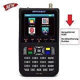 Bild des Produktes 'KKmoon sat finde Digital Satellite Finder mit 3,5 Zoll LCD Digitalanzeige Neue Version (Deutsche Bedienungsanleitung)'