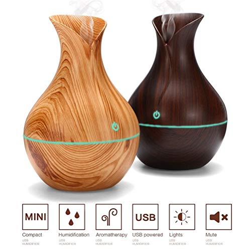 Preisvergleich Produktbild Kühler Nebelbefeuchter, Essential Oil Diffuser Natural Home DuftDiffuser mit automatischer Abschaltfunktion für Zuhause,  Yoga,  Büro,  Spa,  Schlafzimmer