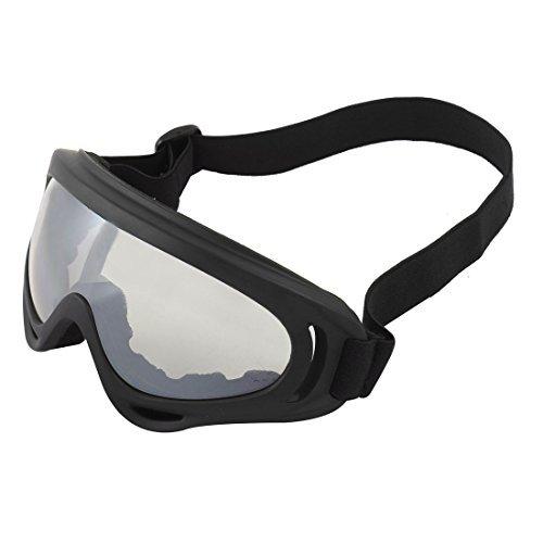 Ski Racing anti mist zwart frame Volledige Rim Uni Clear Lens Goggles Mist Rim