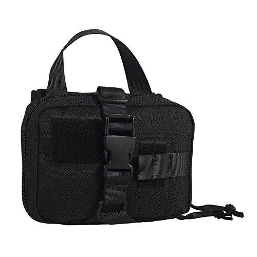 OneTigris MOLLE Militär Taktische Schnell EMT / Erste Hilfe Tasche Erste Hilfe SET (Schwarz)
