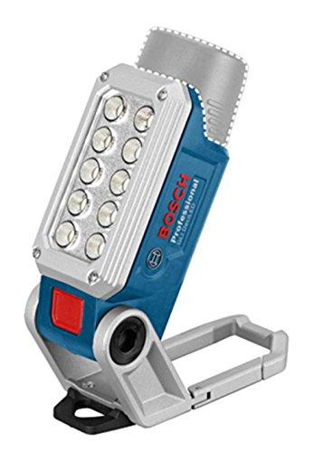 BOSCH Großflächige Ausleuchtung der Arbeitsstelle dank starker 1 Watt LED