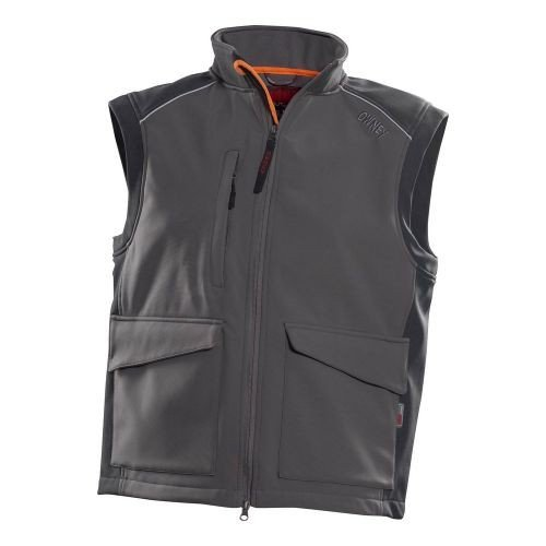 OWNEY OUTDOOR Softshell-Weste 'Companion' Hundesportweste Unisex Grey Vest XXS - 3XL
