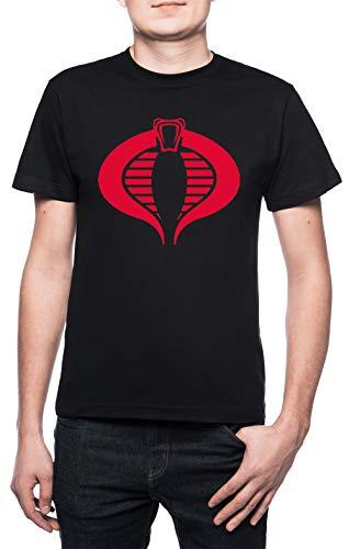 en T-Shirt Rundhals Schwarz Kurzarm Größe XL Men's Black T-Shirt X-Large Size XL ()