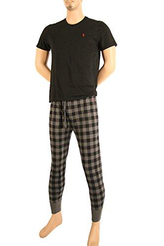 Polo Ralph Lauren Schlafanzug Pyjama Jerseyhose Jogger Stil und Shirt Geschenkbox Multi (001)