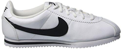 Nike Jungen Cortez (Gs) Laufschuhe Weiß / Schwarz