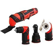 MyWork Professional Tools 12MMW-S - Herramienta multiusos 4 en 1 (batería de ion de litio, 12 V)
