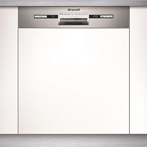 Brandt VH1772X lavavajilla Semi-incorporado 12 cubiertos