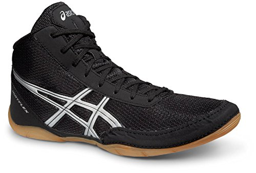 ASICS Chaussure pour la boxe et la lutte Matflex 5 noir/argent