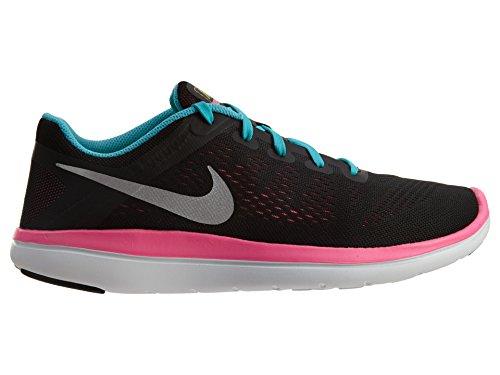 grau neongelb Nike M盲dchen GS Laufschuhe Flex M盲dchen Nike Rn 2016 8zqw4Ex