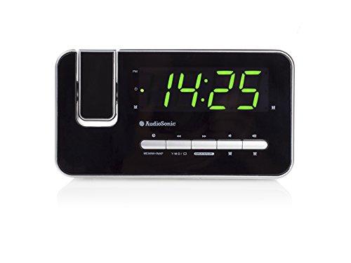 AudioSonic CL-1492 Uhrenradio silber - 2