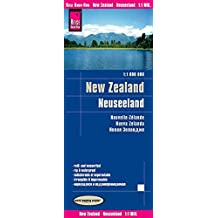 Reise Know-How Landkarte Neuseeland (1:1.000.000): world mapping project
