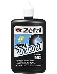 Zefal Wet Lube Huile pour vélo par temps humide Noir 125 ml