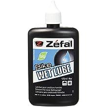 Zefal Wet Lube - Aceite para bicicleta (clima húmedo, 125 ml), color negro