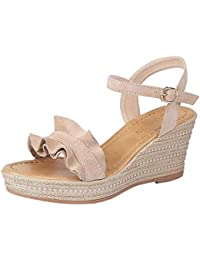 In Amazon Ultimo Mese Sandalo Pelle E Scarpe Borse it Donna Exxw1qAR