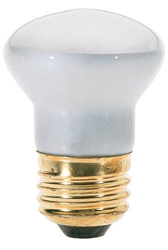 Klar Satco-glühlampe (Satco S4705 Glühlampe, R14, 40 W, klar, mittelgroßer Sockel, 120 V, 8 Stück)