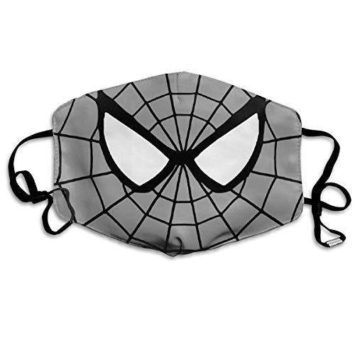 Erwachsene Waschbare wiederverwendbare MundMaskene, Face Masks Anti-Dust Mouth Cover Customize Cool Spider Washable And Reusable Mask Warm Windproof For Women Men Boys Girls Kids ()