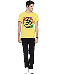 Om Aum Religion Half Sleeves Stylish Graphic Printed T-shirts For Men's Boys Mens Round Neck T Shirt Tees Shirts...