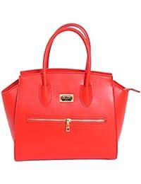 Matt e Desy collection - Bolso de asas de Piel para mujer Rojo rojo