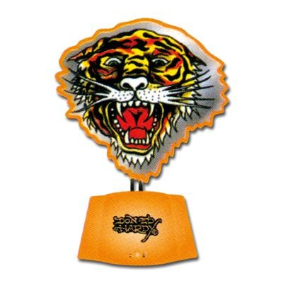 Trend Import 10270100 - Trend Import - Ed Hardy Tiger Open Mouth Neon Desk Sculpture