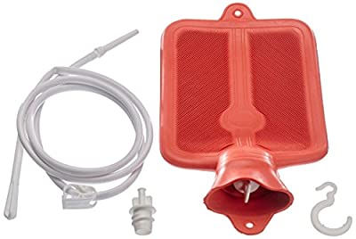 2 qt Fountain Syringe Kit Personal Hygiene and Enema System