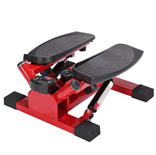 LY-01 Stepper Stepper, Mini-Multifunktions Stepping Übung Pedal Machine Weight Loss Fitnessgeräte (Farbe : SCHWARZ)