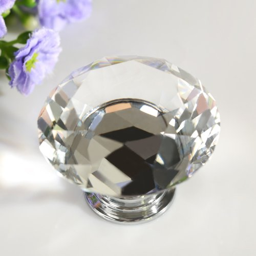 Revesun 4PCS/LOT Crystal Glass D...