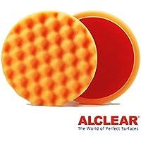 ALCLEAR Set di 2 dischetti per lucidatura a cialda anti ologrammi per un sistema disco Ø 160x30 mm, orange - ukpricecomparsion.eu