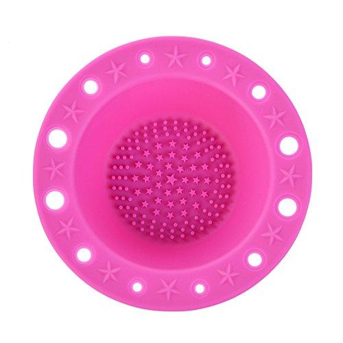 Bol multifonction en silicone pour nettoyer les pinceaux de maquillage