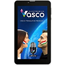 """Vasco Translator Premium 7: Elektronischer Übersetzer mit Spracheingabe, Sprachausgabe und großem 7"""" Display"""