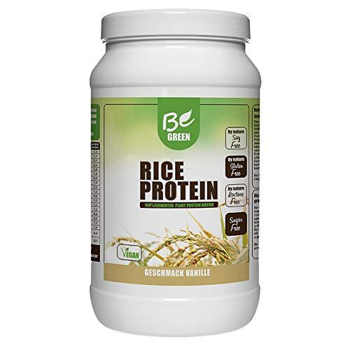1000g | Veganes Protein zum Muskelaufbau | Premium Proteinpulver, frei von Zucker, Aspartam und Gluten (Vanille) ()