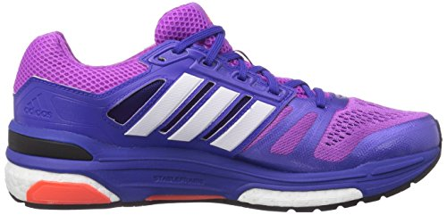 Adidas Performance - Supernova Sequence 7, Sneakers da donna Clear Granite/Core Black/Semi Night Flash
