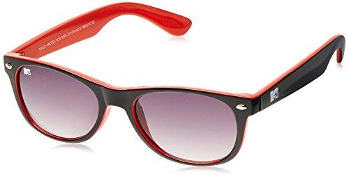 MTV Gradient Oval Unisex Sunglasses (Black) (MTV Gradient-121-C4) image