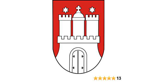 Aufkleber Dorfen Wappen Autoaufkleber Sticker Konturschnitt