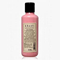 Khadi Natural Khadi Herbal Moisturizer Rose & Honey Mosturising Lotion 210ml