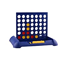 STOBOK Giant 4 in A Row Wooden Drop 4 Outdoor Game Wooden Family Game Indoor Outdoor Use Connect The 4 to Win for Kids